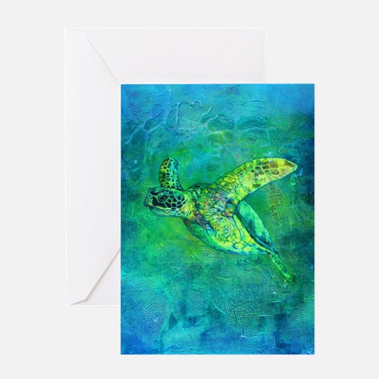 Silent Journey Greeting Card