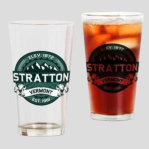"""Stratton """"Vermont Green"""" Drinking Glass"""