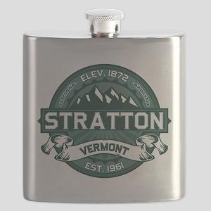 """Stratton """"Vermont Green"""" Flask"""