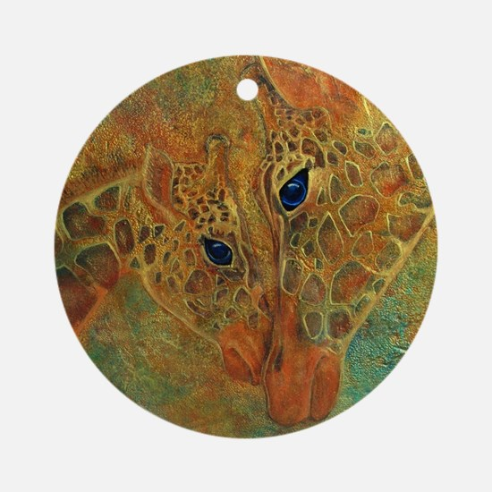 Cherish Round Ornament