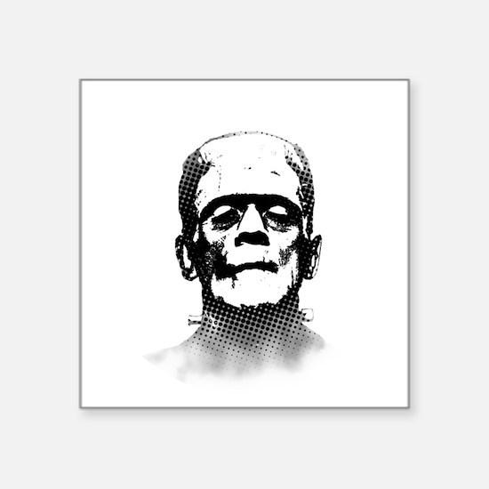 """Frankenstein Square Sticker 3"""" x 3"""""""