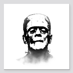 "Frankenstein Square Car Magnet 3"" x 3"""