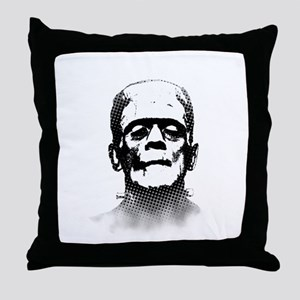 Frankenstein Throw Pillow