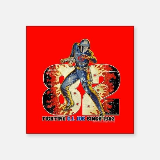 "G.I. Joe Cobra Commander Square Sticker 3"" x 3"""