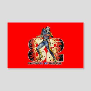 G.I. Joe Cobra Commander 20x12 Wall Decal