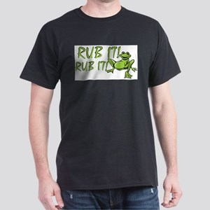 Rub it Frog Ash Grey T-Shirt