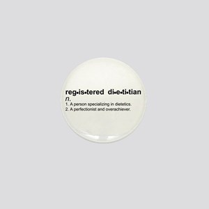 Registered Dietitian Mini Button
