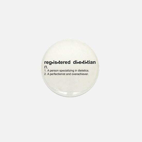 Registered Dietitian Mini Button