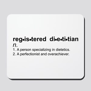 Registered Dietitian Mousepad