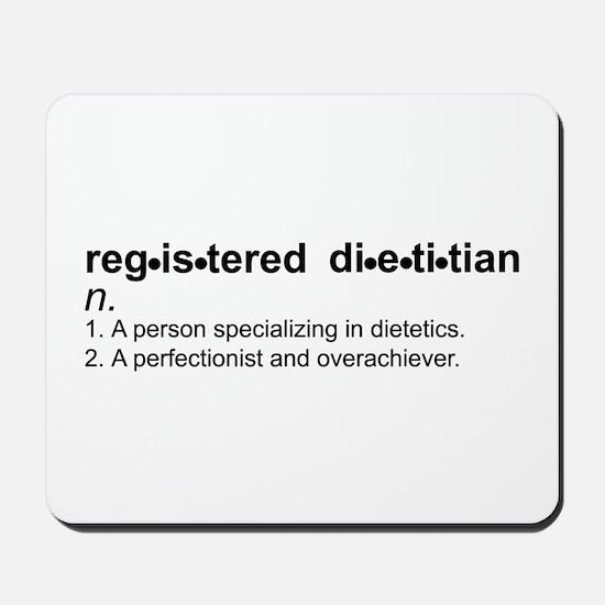 Registered Dietitian Mousepad