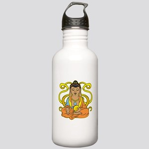 Buddha Flowing Energy Stainless Water Bottle 1.0L