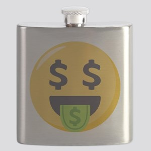 Money-Mouth-Face Emoji Flask