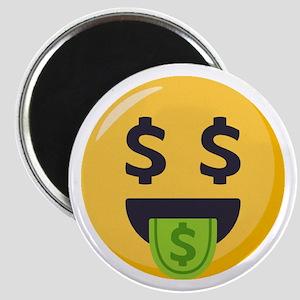 Money-Mouth-Face Emoji Magnet