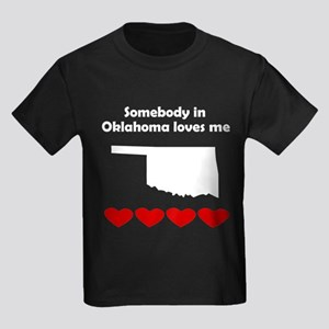 Somebody in Oklahoma Loves Me T-Shirt