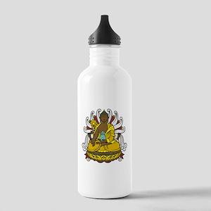 Medicine Buddha Stainless Water Bottle 1.0L
