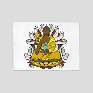 Medicine Buddha 5'x7'Area Rug