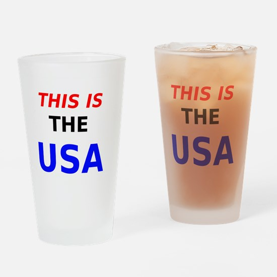 This is the USA Drinking Glass