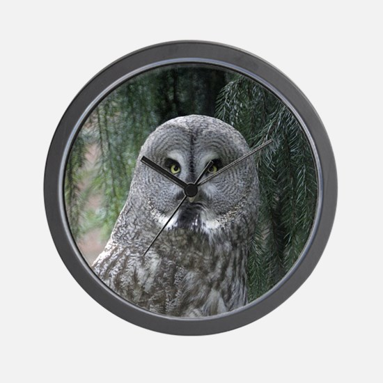 Owl002 Wall Clock
