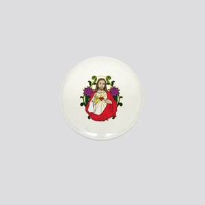 Sacred Heart Jesus Christ Mini Button