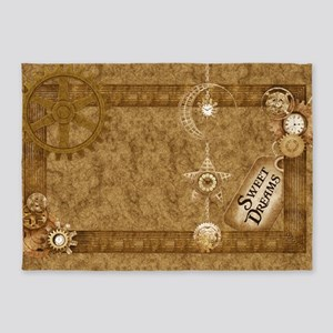 Steam Punk'd - Home Collection 5'x7'Area Rug