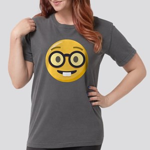 Nerd-face Emoji Womens Comfort Colors Shirt