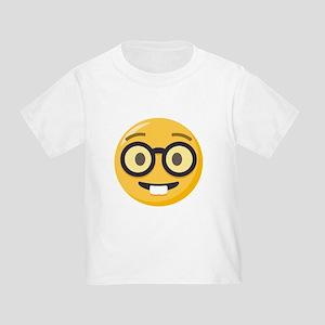 Nerd-face Emoji Toddler T-Shirt