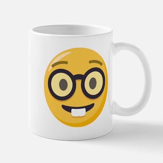 Nerd-face Emoji Mug