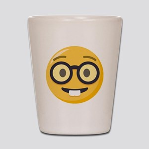 Nerd-face Emoji Shot Glass