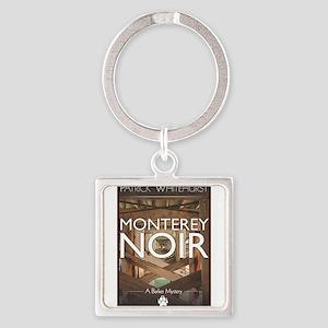 Design: Monterey Noir Cover Graphic Keychains