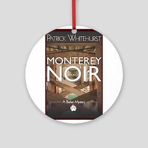 Design: Monterey Noir Cover Graphic Ornament (Roun