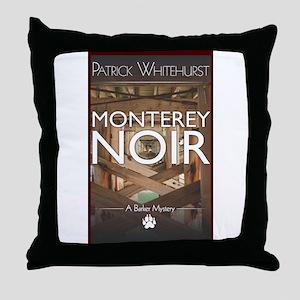 Design: Monterey Noir Cover Graphic Throw Pillow