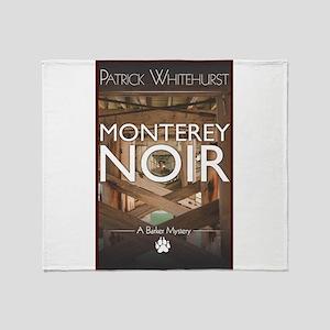 Design: Monterey Noir Cover Graphic Throw Blanket