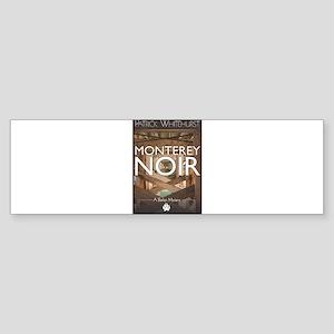 Design: Monterey Noir Cover Graphic Bumper Sticker