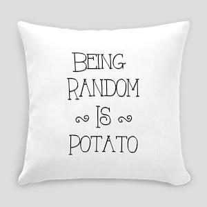 Random Potato Everyday Pillow