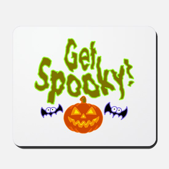 Halloween Get Spooky! Mousepad