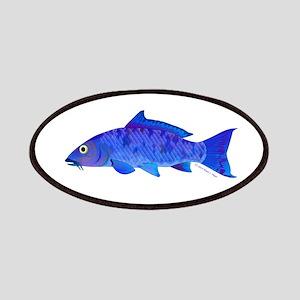 Blue Koi carp Patches