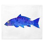 Blue Koi carp King Duvet