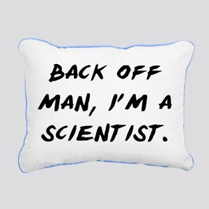 I'm a Scientist Rectangular Canvas Pillow