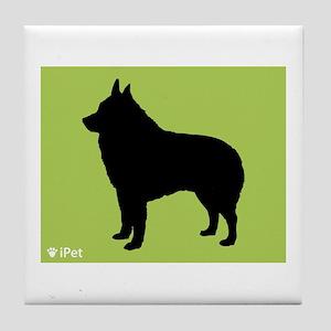 Schipperke iPet Tile Coaster