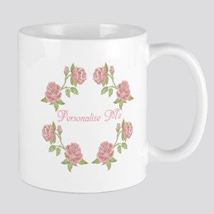 Personalized Rose Mug