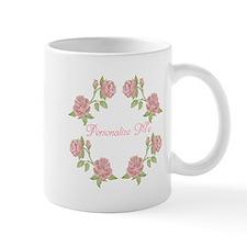 Personalized Rose Mug