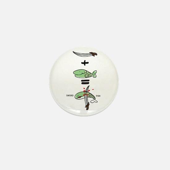 Sword Fish Mini Button