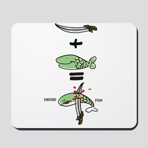 Sword Fish Mousepad