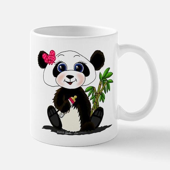 Panda Baby Girl Mugs