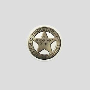 Tombstone Sheriff Mini Button