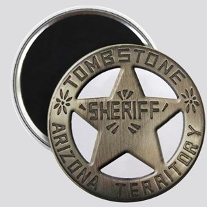 Tombstone Sheriff Magnets