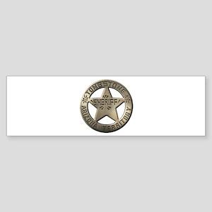 Tombstone Sheriff Bumper Sticker