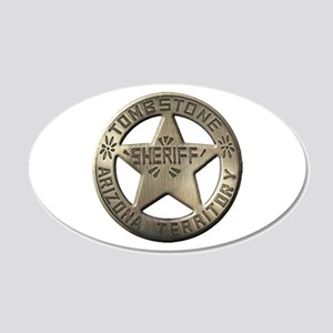 Tombstone Sheriff Wall Decal