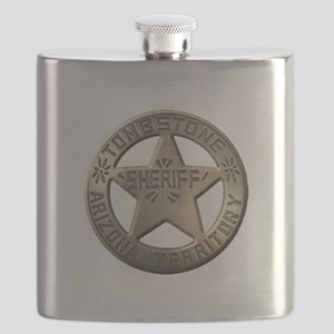 Tombstone Sheriff Flask