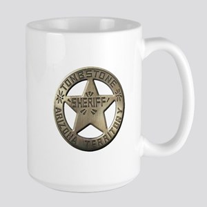 Tombstone Sheriff Mugs